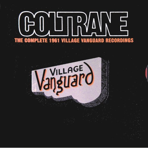 Coltrane 1961 Village Vanguard Recordings album cover