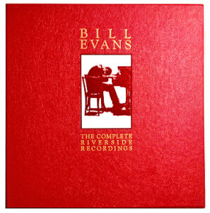 Bill Evans - The Complete Riverside Recordings box cover.