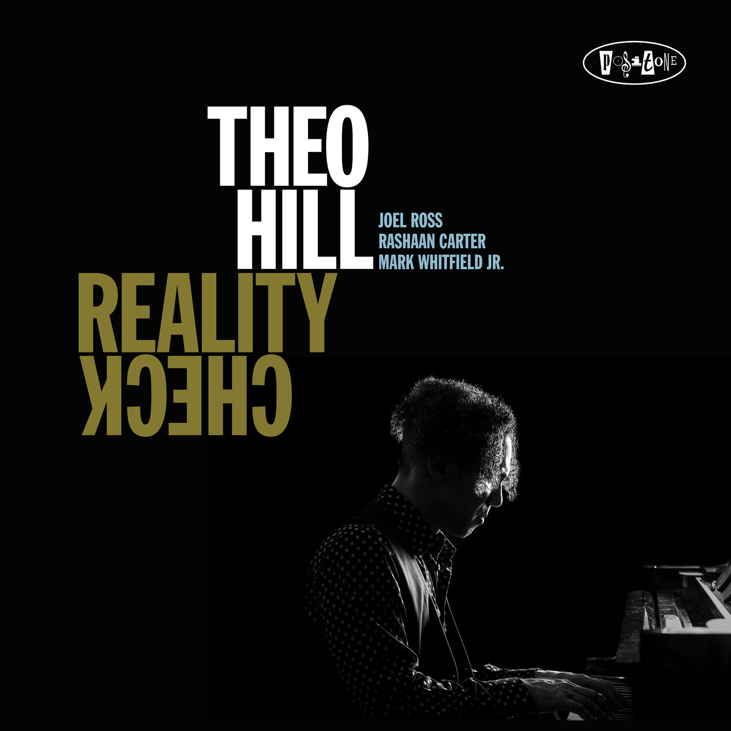 Theo Hill - Reality Check album cover.