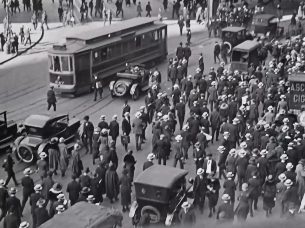 Still capture from Manhatta (1921)