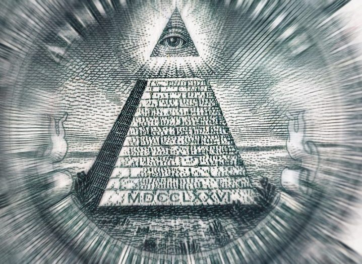Image of the all-seeing eye.
