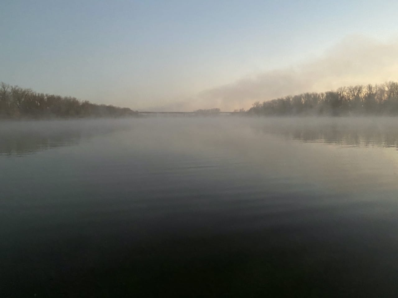 Kansas River at Dawn 2020-11-11
